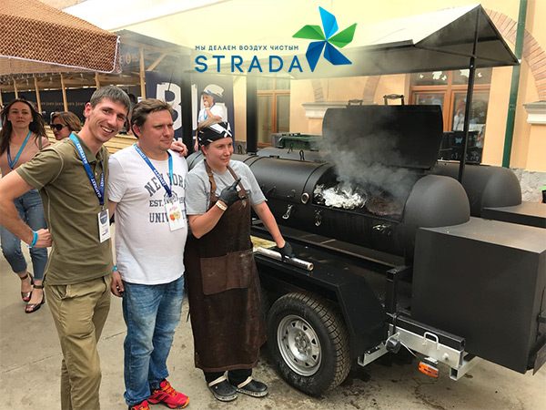 Очистка воздуха STRADA на «Gastreet International Restaurant Show 2018!»